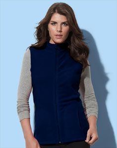 Veste dama fleece navy Stedman