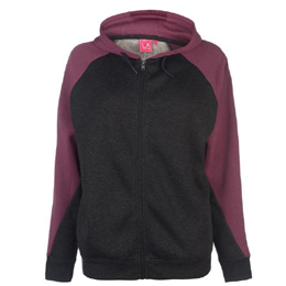Hoodies dama LA Gear gri mov pruna