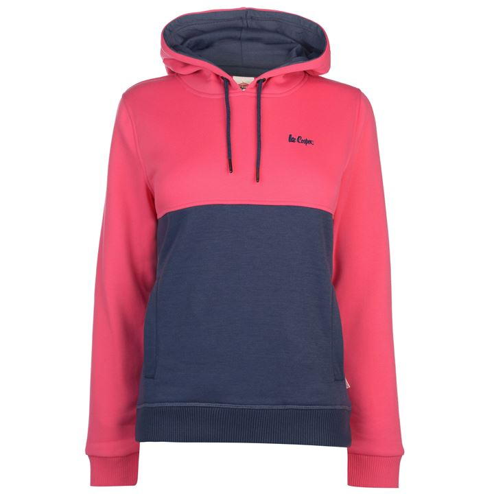 Hoodies dama Lee Cooper roz denim