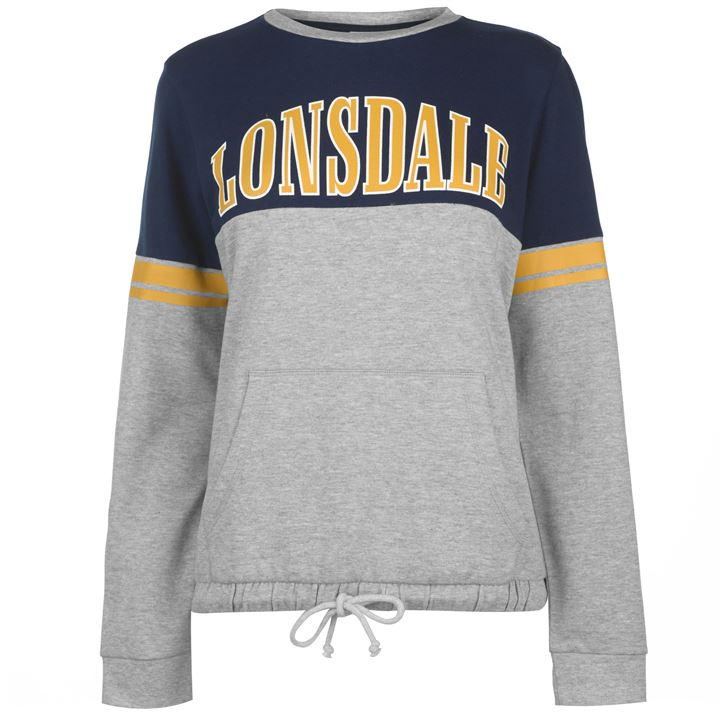 Lonsdale gri navy